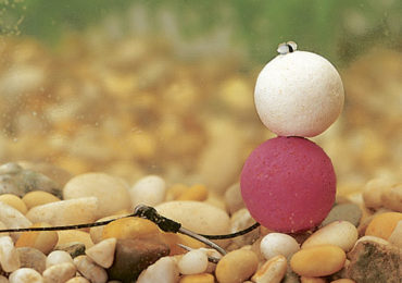 Porumbul flotant in echilibrarea monturilor cu boilies
